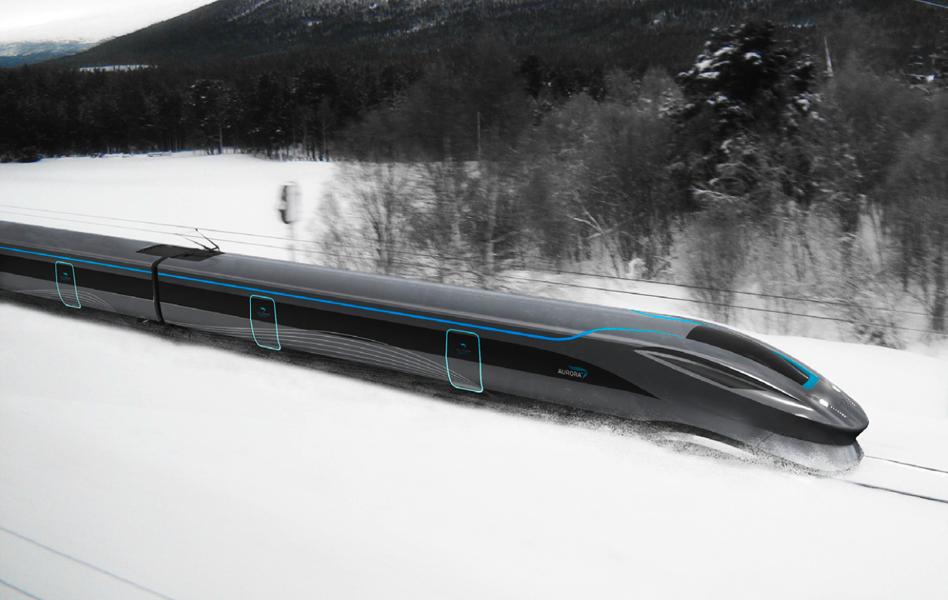 - speeding through norwegian nature
